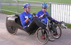 Eerste en tweede plaats M5 teams bij groot racefietsevenement in Annecy, Frankrijk.