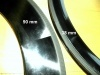 New ultra high (90 mm) full carbon clincher and tubular rims available at M5
