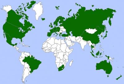 M5 Ligfietsen wereldwijd