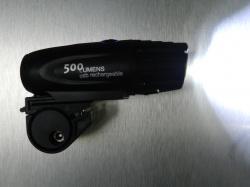 Nu weer binnen: Super LED koplampen voor op fiets en/of helm
