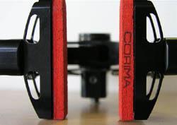 Ontwikkeld voor onze lichtgewicht remmen: super lichtgewicht remschoenhouder